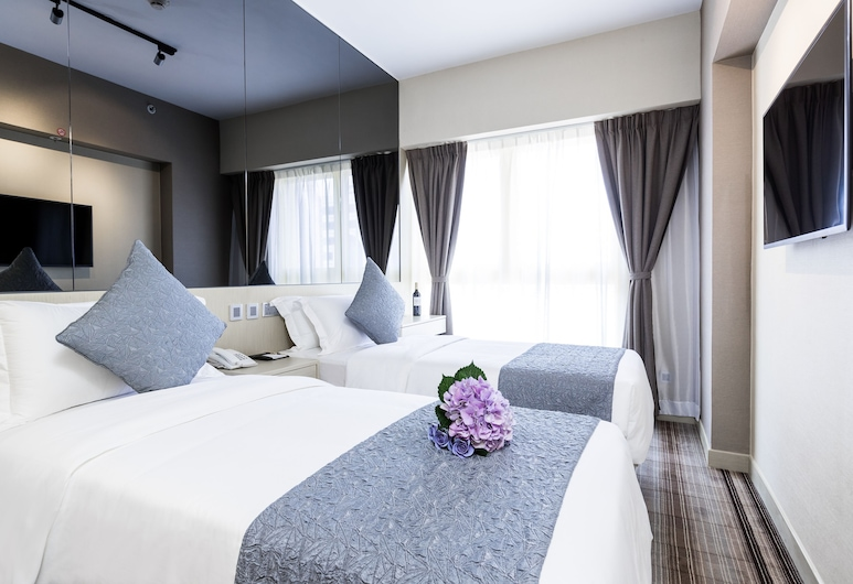 Eco Tree Hotel Causeway Bay, Hong Kong, Superior Double or Twin Room, Guest Room