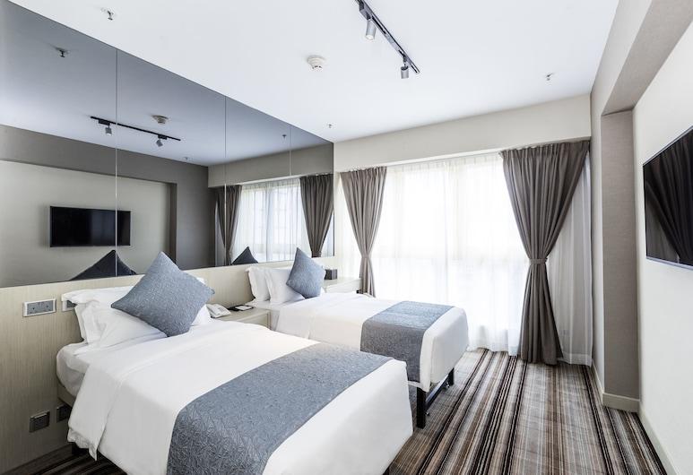 銅羅灣頤庭酒店, 香港, 豪華雙人或雙床房, 客房