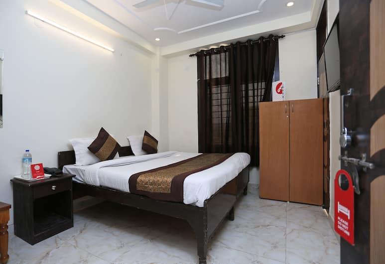 OYO 13280 Hotel Royal India, New Delhi, Deluxe tweepersoonskamer, voor 1 persoon, 1 kingsize bed, niet-roken, Kamer