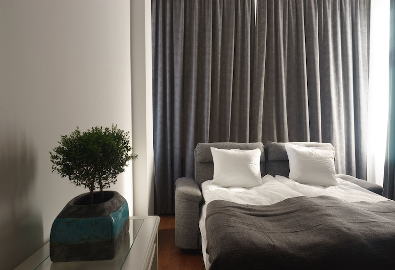 1 Night In Poznań - Matejki Apartments, Poznan, Deluxe Apart Daire, Balkon (4 Adults), Oda