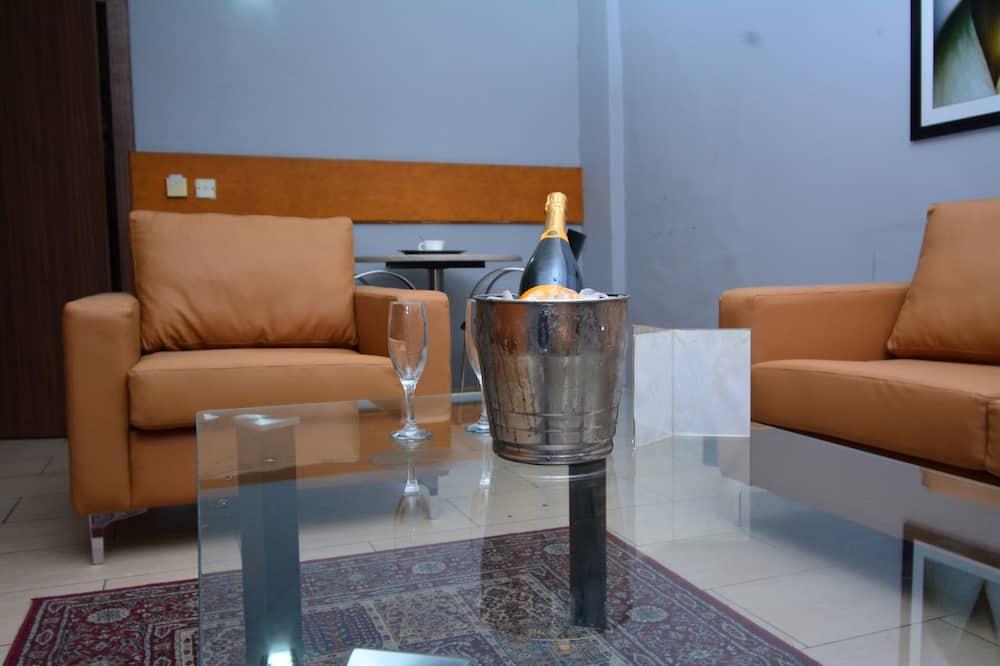 Camera Elite con letto matrimoniale o 2 letti singoli, 1 camera da letto - Area soggiorno