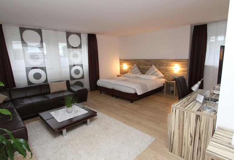 Designhotel Im Südfeld, Kamen, Junior Suite, Dnevni boravak