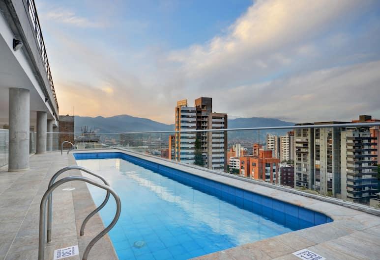 Soul Lifestyle Apartments, Medellin, Deluxe Apart Daire, 1 En Büyük (King) Boy Yatak, Oda