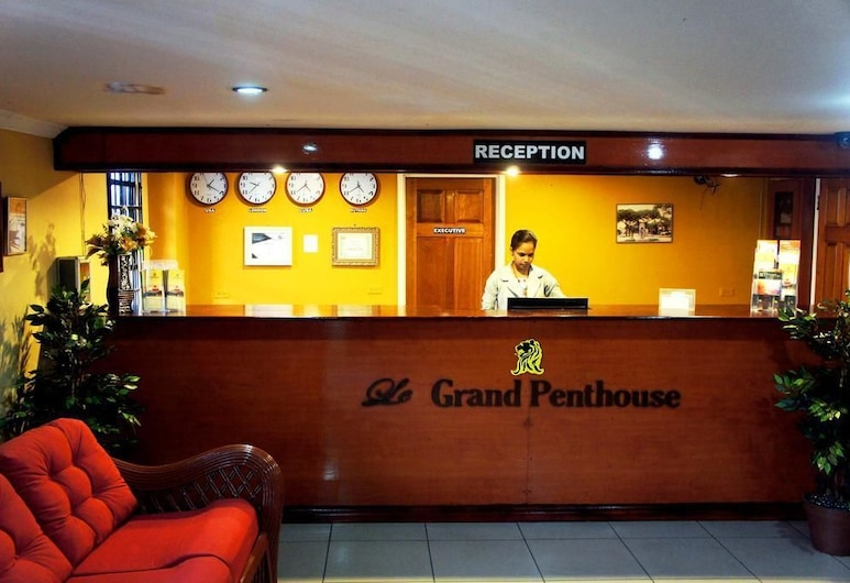 Le Grand Penthouse Hotel, Georgetown, Reception