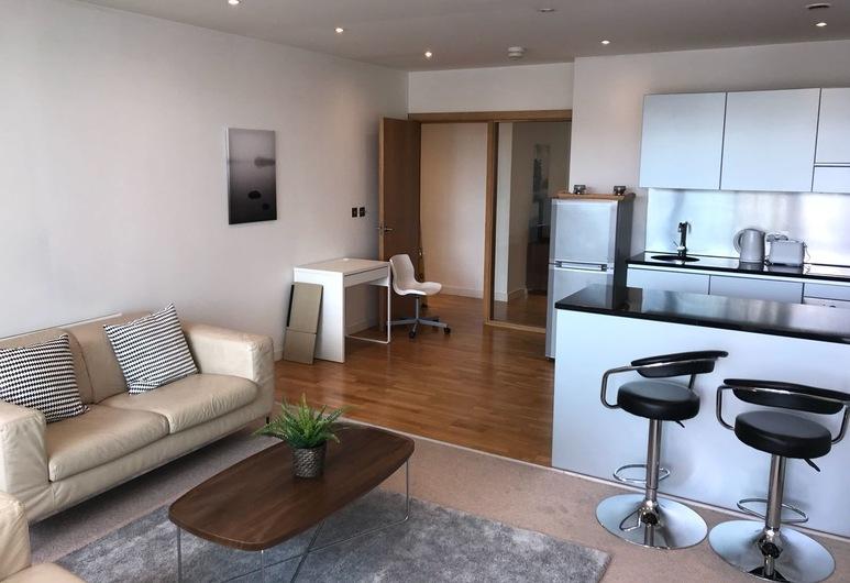 スタイリッシュ キーサイド アパートメント, Newcastle-upon-Tyne, リビング ルーム