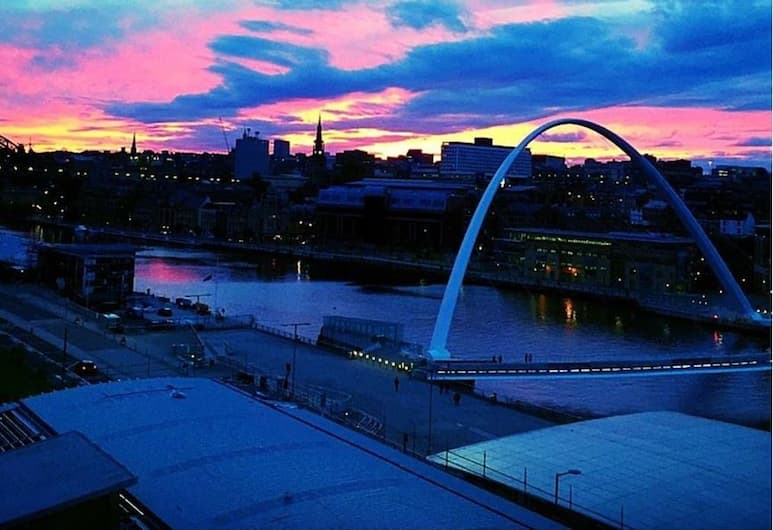 Stunning Apartment with Amazing Views, Gateshead, Exteriér