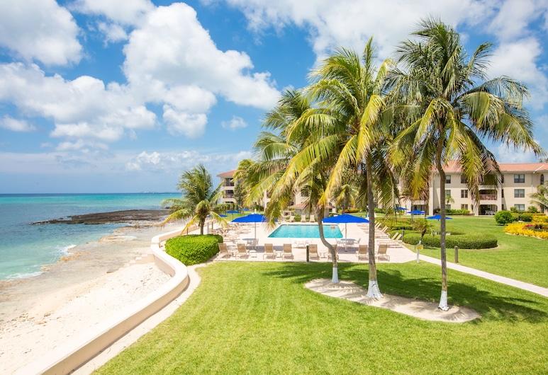 Georgetown Villas #218 by Cayman Vacation, Pláž Seven Mile , Byt typu Deluxe, terasa, výhľad na more, Terasa