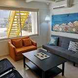 Ģimenes dzīvokļnumurs, viena guļamistaba, nesmēķētājiem, skats uz dārzu (Studio 1) - Dzīvojamā istaba