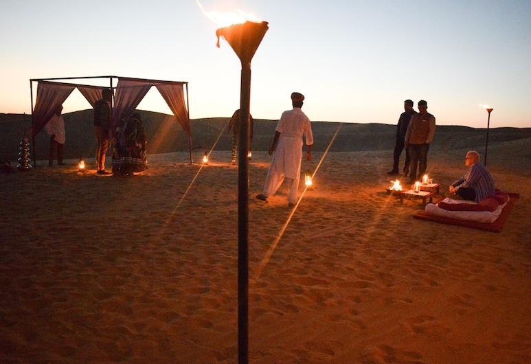 Seven Palms Desert Camp, Джайсалмер, Пляж