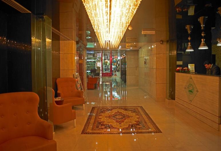 Phoenicia Hotel, Dubajus, Registratūra