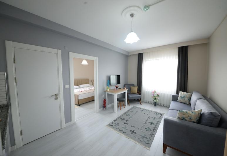 City59 Suit Otel, Tekirdag, King Suite, Wohnzimmer