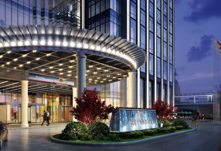 Jeurong Hotel Shanghai, Shanghai, Hotel Entrance