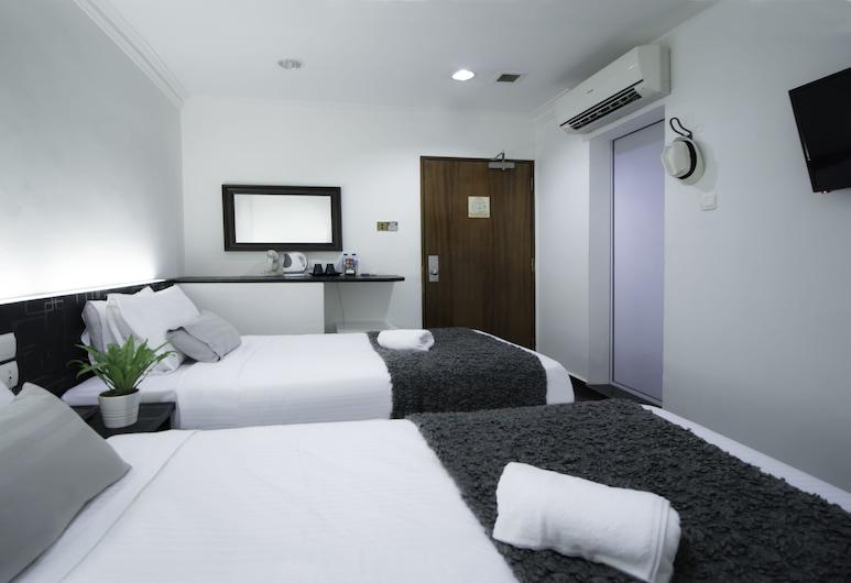 Harbour Ville Hotel Hamilton - Lavender, Singapore, Deluxe Twin (No Window), Guest Room