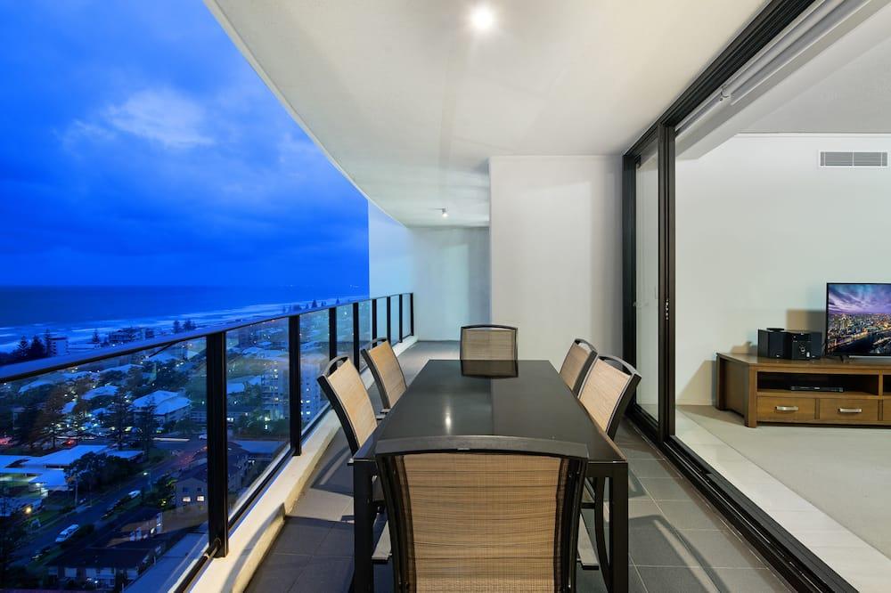 Grand-Apartment, 3Schlafzimmer, Nichtraucher, Meerblick - Balkon