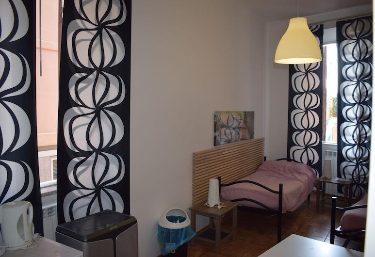 藝術家酒吧青年旅舍, 羅馬, 雙人或雙床房, 私人浴室, 客房