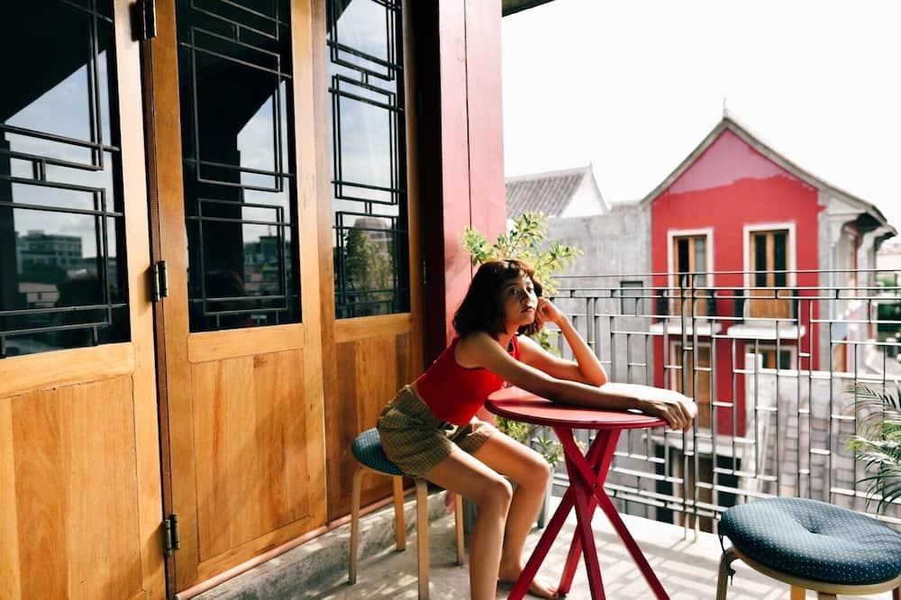 Double Room with Balcony (Type B) - נוף מהמרפסת