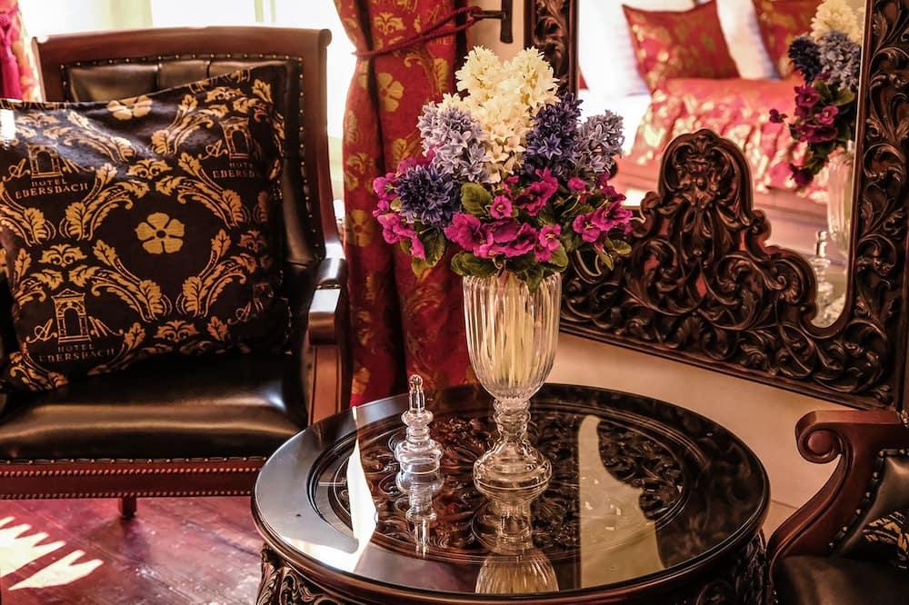 Apartmá (The Rudolf II. Suite ) - Obývací prostor
