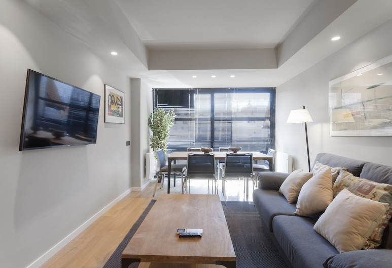 Apartamento Luxury II, Madryt, Apartament, 2 sypialnie, balkon, Powierzchnia mieszkalna