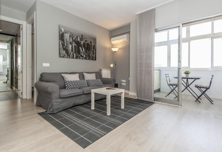 Apartamento Plaza de Castilla II, Madrid, Huoneisto, 2 makuuhuonetta, Olohuone