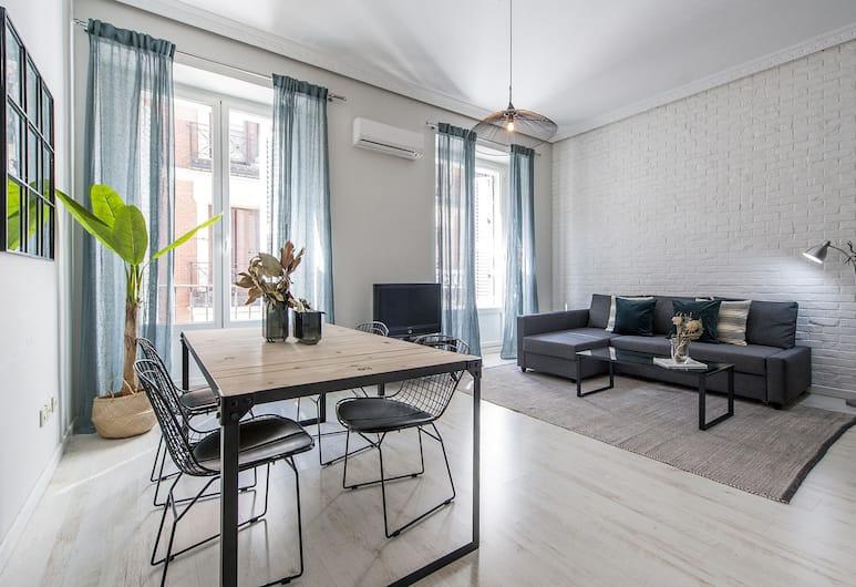 Alterhome Apartamento Plaza de Cibeles, Madrid, Apartment, 1 Schlafzimmer, Wohnbereich