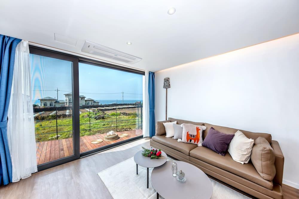 Superior villa, vaade ookeanile - Elutuba