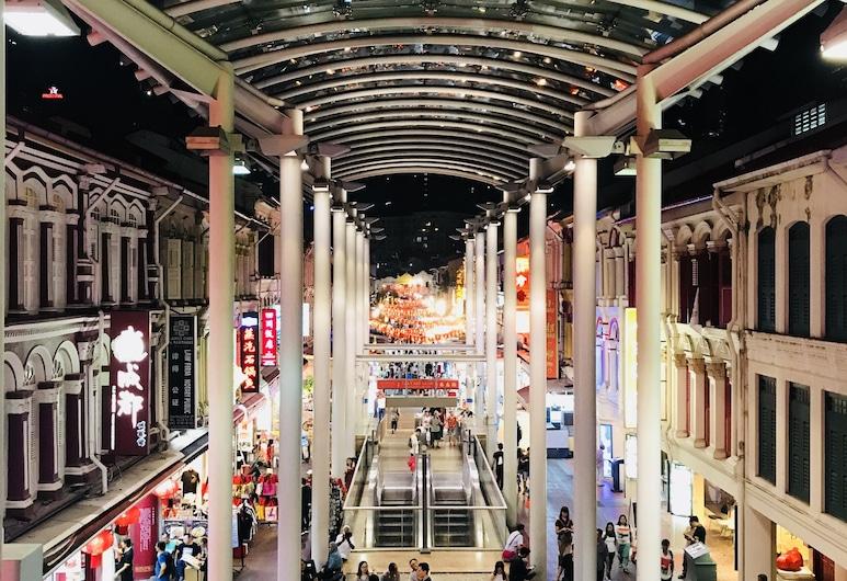 中國城亞特蘭蒂絲公寓飯店, 新加坡, 飯店入口 - 夜景