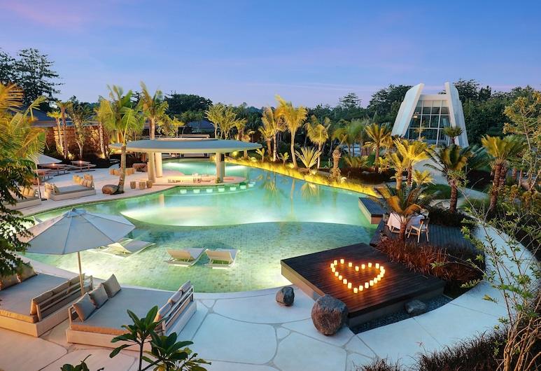 X2 Bali Breakers Resort, Jimbaran, Çiftler için Yemek Alanı