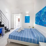 Vierpersoonskamer, Uitzicht op zee - Kamer