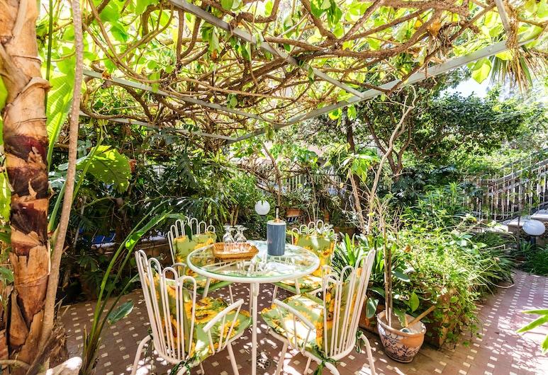 Casa Sole Luna Con Giardino, Palerme, Appartement, 3 chambres, Terrasse/Patio