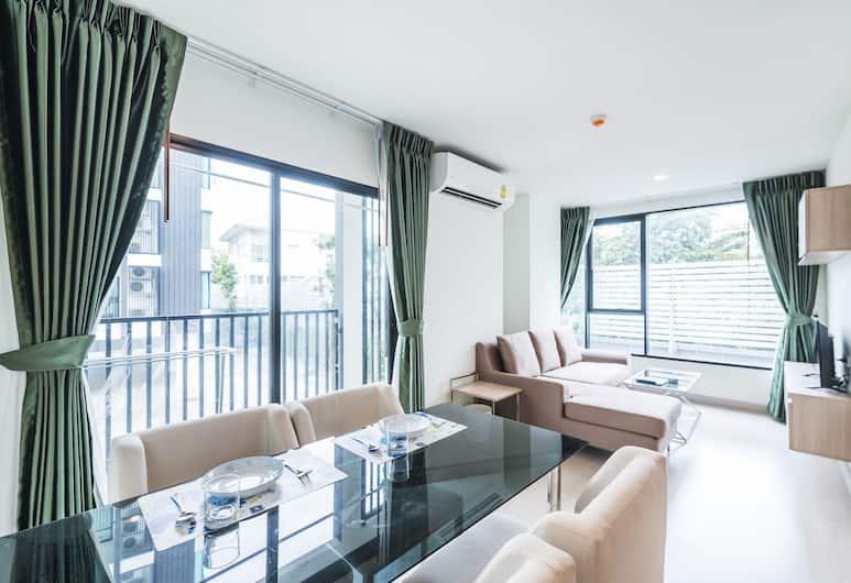 니체 모노 SKV50 바이 파브스테이, 방콕, 스탠다드 아파트, 침실 2개, 객실