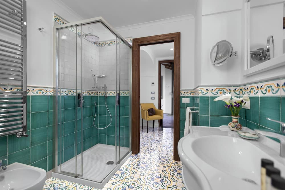 חדר דה-לוקס זוגי, ללא עישון - חדר רחצה