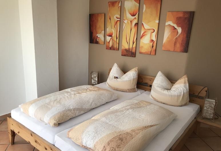 Gästehaus am Bach - Ferienwohnungen , Rust, Appartement, 2 chambres, terrasse (FeWo 1), Chambre