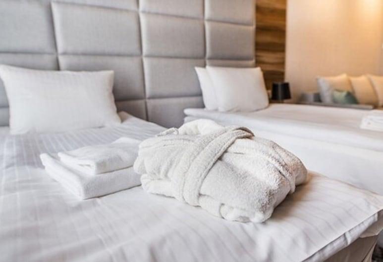 Aparthotel Rakowicka Residence, Cracovia, Habitación familiar con 2 camas individuales, Habitación