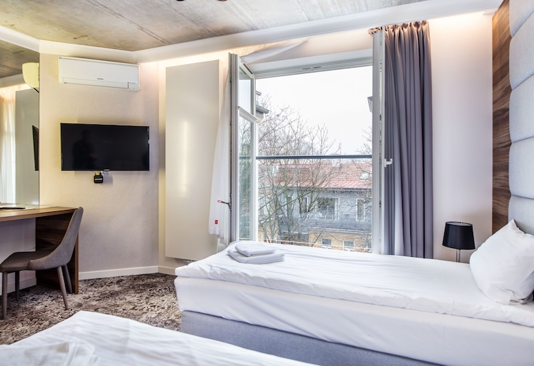 Aparthotel Rakowicka Residence, Krakow, Family Twin Room, View from room