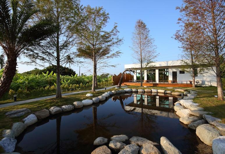 Taroko Yan Hai Bo Villa, Xincheng, Sittområde i lobbyn