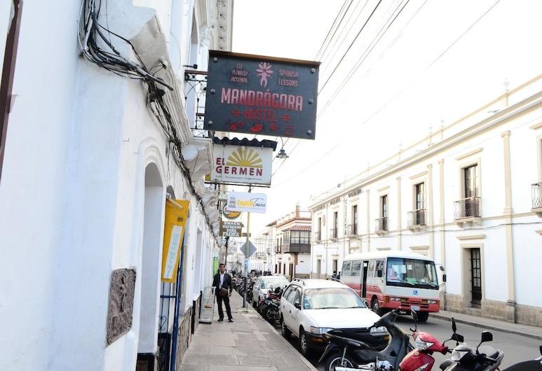 Mandragora Hostel, Sucre, Hotelfassade