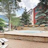 Apartamento, 1 habitación, bañera de hidromasaje, vistas a la montaña (Silvermill Lodge 8238) - Piscina