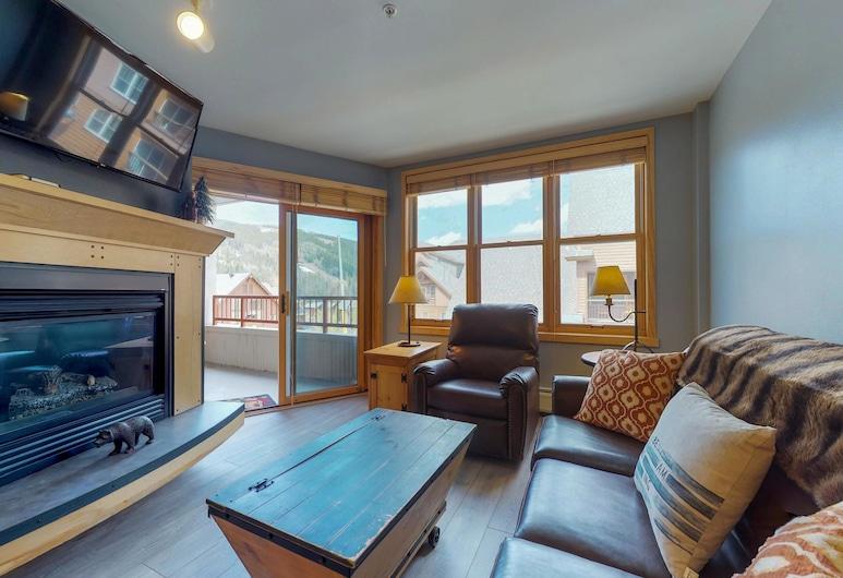 Condominiums in Keystone, Keystone, Byt, 1 spálňa, vírivka, výhľad na hory (Silvermill Lodge 8254), Obývacie priestory
