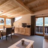 Kondominium Comfort, 1 Tempat Tidur Queen dengan tempat tidur Sofa, non-smoking - Ruang Keluarga