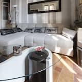 Căn hộ, 2 phòng ngủ, Quang cảnh thành phố - Phòng khách