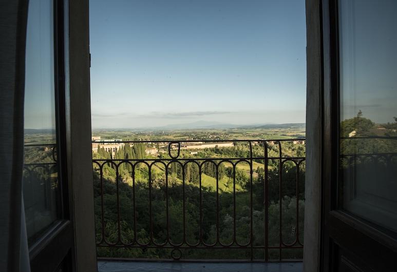 B&B Paolina, Siena, Habitación Deluxe, balcón, Vista de la habitación
