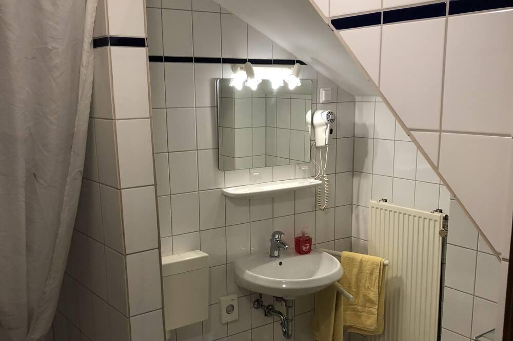 ห้องซิงเกิล, เตียงเดี่ยว 1 เตียง, ปลอดบุหรี่ - ห้องน้ำ