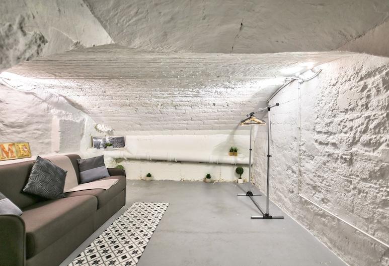 01 - 베스트 로프트 몽토르궤이 파리, 파리, 아파트, 침실 1개 (Lower level), 객실