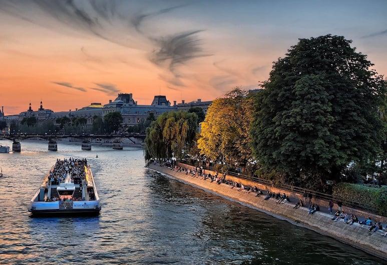 01 - 蒙特格巴黎最佳閣樓飯店, 巴黎, 外觀
