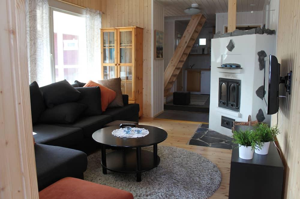 舒適平房, 三溫暖 - 客廳