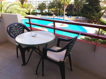 Bilde av Studio in Alcúdia, With Wonderful Mountain View, Pool Access, Furnished Terrace - 700 m From the Beach i Alcúdia