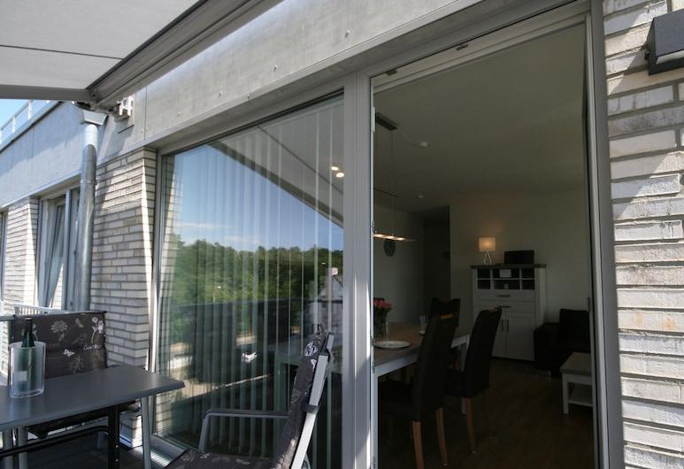 การ์ติเยร์ โฮเฮ กีสต์ 19, คุกซ์ฮาเฟิน, อพาร์ทเมนท์, 2 ห้องนอน (incl 90€ cleaning and 12€ service fee), ระเบียง