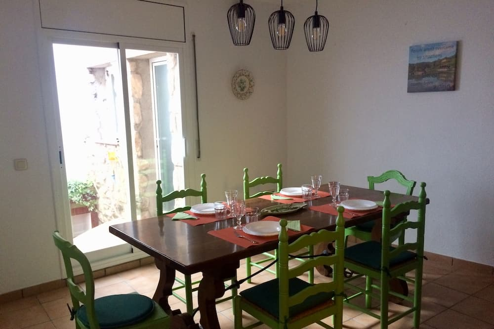Rodinný dom, 2 spálne - Stravovanie v izbe