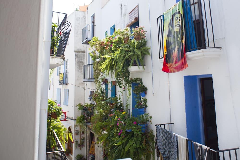 Værelse til 3 personer - balkon - Altan