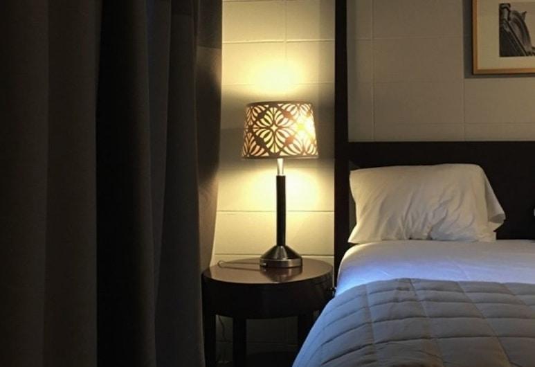 Auberge Pique-Nique, Shawinigan, Standardna dvokrevetna soba, 2 queen size kreveta, pogled na vrt, vrt, Soba za goste